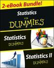 Statistics I &amp; II For Dummies 2 eBook Bundle: Statistics For Dummies &amp; Statistics II For Dummies