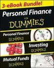 Eric Tyson - Personal Finance For Dummies Three eBook Bundle: Personal Finance For Dummies, Investing For Dummies, Mutual Funds For Dummies