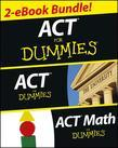 ACT For Dummies Two eBook Bundle: ACT For Dummies & ACT Math For Dummies