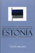 Historical Dictionary of Estonia