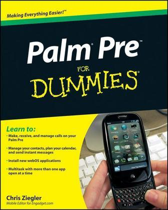 Palm Pre For Dummies