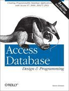 Access Database Design & Programming