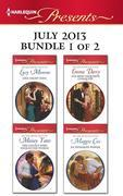 Harlequin Presents July 2013 - Bundle 1 of 2: One Night Heir\The Couple who Fooled the World\His Most Exquisite Conquest\In Petrakis's Power