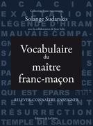 Vocabulaire du maître franc-maçon