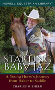 Starting Baby JAZ: A Young Horse's Journey from Halter to Saddle