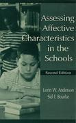 Assessing Affective Characteristics in the Schools