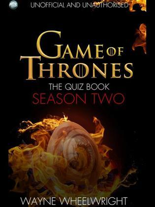 Game of Thrones the Quiz Book - Season Two