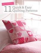 Quilt Essentials - 11 Quick & Easy Quilting Patterns