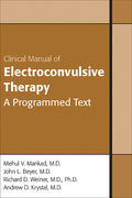 Clinical Manual of Electroconvulsive Therapy