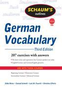 Schaum's Outline of German Vocabulary, 3ed
