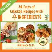 30 Days of Chicken Recipes with 4 Ingredients