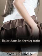Baise dans le dernier train: Une fantaisie érotique entre une femme mature et un jeune homme