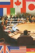 The Role of the G8 in International Peace and Security