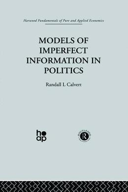 Models of Imperfect Information in Politics