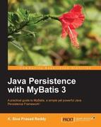 Java Persistence with MyBatis 3