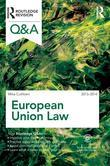 Q&A European Union Law 2013-2014