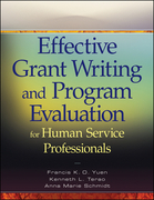 Effective Grant Writing and Program Evaluation for Human Service Professionals: An Evidence-Based Approach