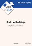 Droit, méthodologie