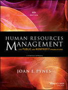 Human Resources Management for Public and Nonprofit Organizations: A Strategic Approach