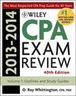 Wiley CPA Examination Review 2013-2014, Outlines and Study Guides