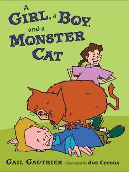 A Girl, a Boy, and a Monster Cat