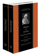 Elements of Criticism: In Two Volumes