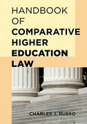 Handbook of Comparative Higher Education Law