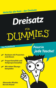 Dreisatz Fur Dummies Das Pocketbuch