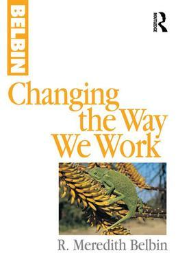 Changing the Way We Work