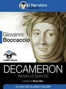 Decameron (novelle scelte) (Audio-eBook EPUB3)