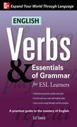 English Verbs & Essentials of Grammar for ESL Learners
