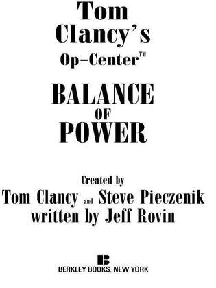 Balance of Power: Op-Center 05