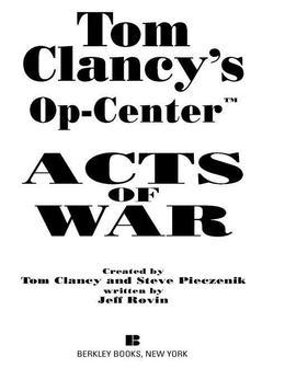 Acts of War: Op-Center 04