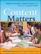 Content Matters: A Disciplinary Literacy Approach to Improving Student Learning