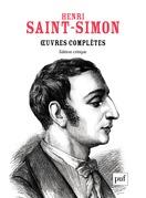 Œuvres complètes de Saint-Simon