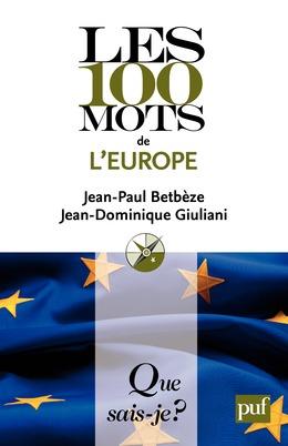 Les 100 mots de l'Europe
