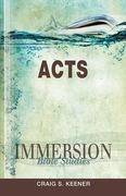 Immersion Bible Studies   Acts