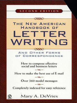 The New American Handbook of Letter Writing: Second Edition