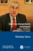 Grer les changements climatiques. Climat, croissance, dveloppement et quit
