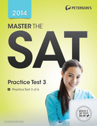 Master the SAT: Practice Test 3: Practice Test 3 of 6