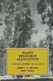 Plant Resource Allocation