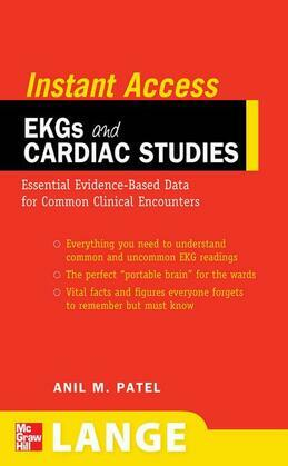 LANGE Instant Access EKGs and Cardiac Studies: EKGs and Common Cardiac Studies