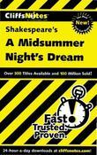 CliffsNotes on Shakespeare¿s A Midsummer Night¿s Dream