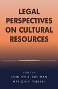 Legal Perspectives on Cultural Resources