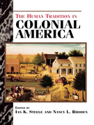 The Human Tradition in Colonial America