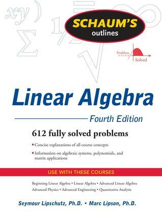 Schaum's Outline of Linear Algebra Fourth Edition