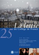 25 | 2009 - La Lettre n° 25 - lettre CDF