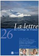 26 | 2009 - La Lettre n° 26 - lettre CDF