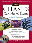Chase's Calendar of Events 2010