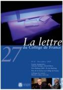 27 | 2009 - La Lettre n° 27 - lettre CDF